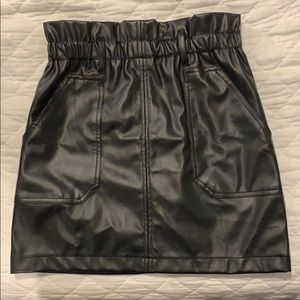 Forever 21 Leather Style Skirt
